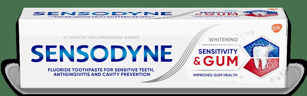Sensodyne Sensitive & Gum Whitening toothpaste