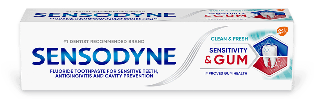 Sensodyne Sensitivity & Gum Clean & Fresh