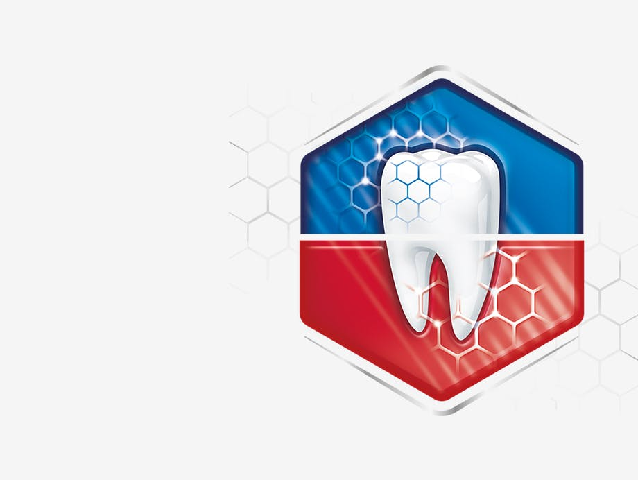 toothpaste for sensitive teeth & bleeding gums logo
