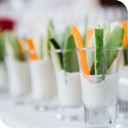 Celery, cucumbers, and carrots can help strenghten and protect the surface of your teeth