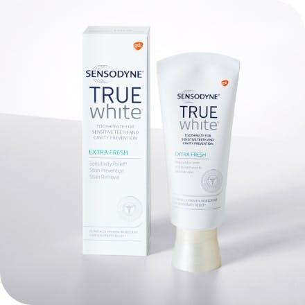 Sensodyne True White toothpaste products