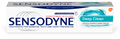 Sensodyne Deep Clean Toothpaste product image