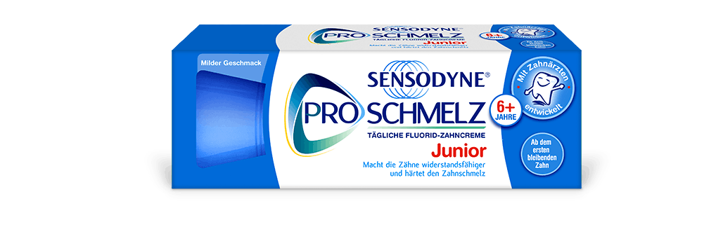 Box of Sensodyne Pronamel Toothpaste for children