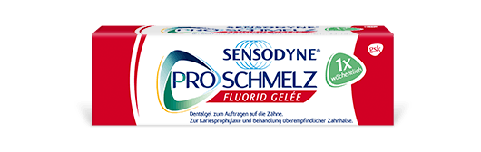 Box of Sensodyne Pronamel Intensive Enamel Repair toothpaste in Extra Fresh