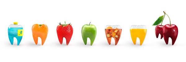 Säurebedingter Zahnschmelzabbau