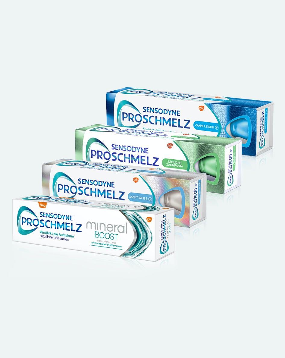 Explore Sensodyne toothpastes