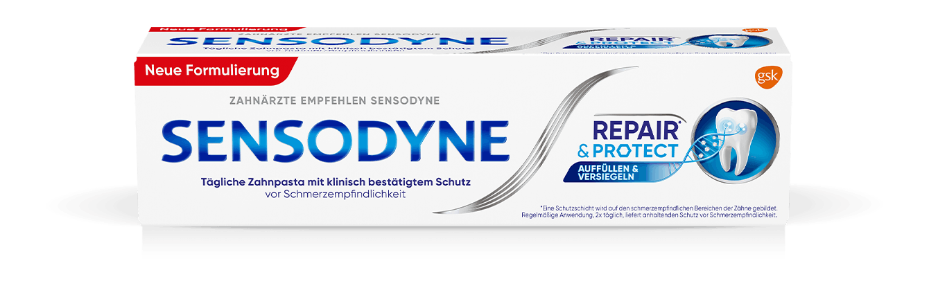 Sensodyne Rapid Relief toothpaste header