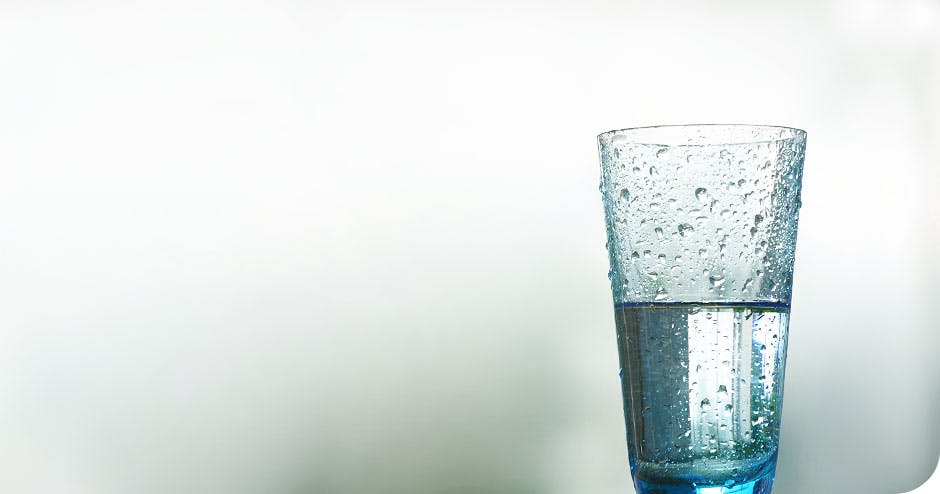 Information stating to drink water to rinse away dietary acids
