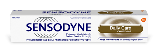 Sensodyne Daily Care + Whitening toothpaste