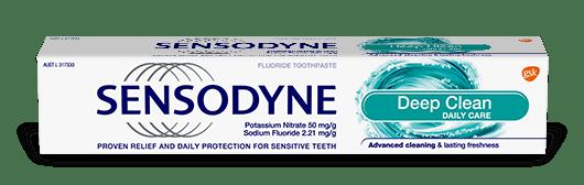 Sensodyne Deep Clean toothpaste