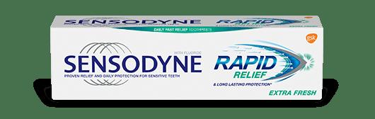 Sensodyne toothpaste in Fresh Mint