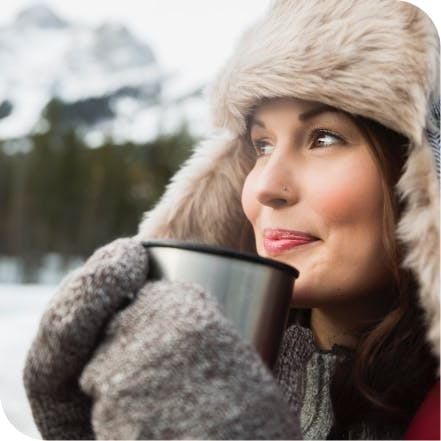 Drinking a hot beverage without worrying about sensitive teeth