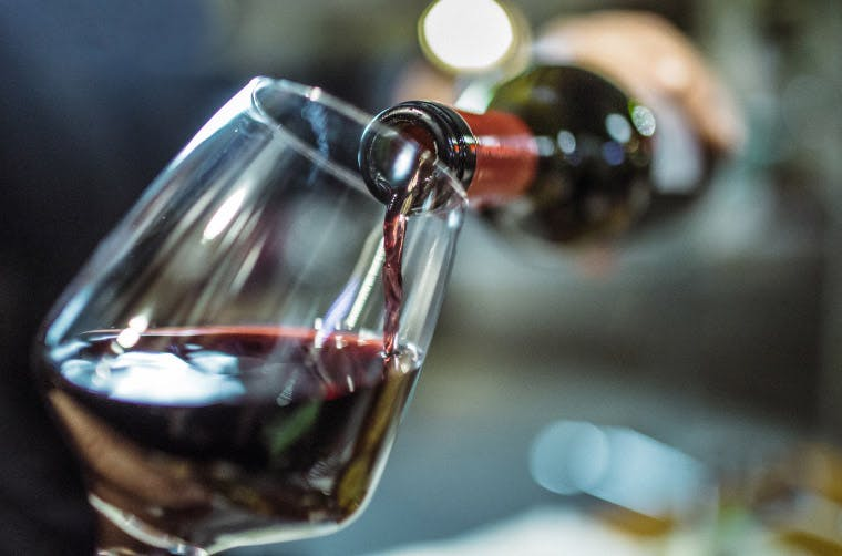 Red wine can stain your teeth