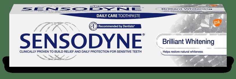 Sensodyne Brilliant Whitening toothpaste