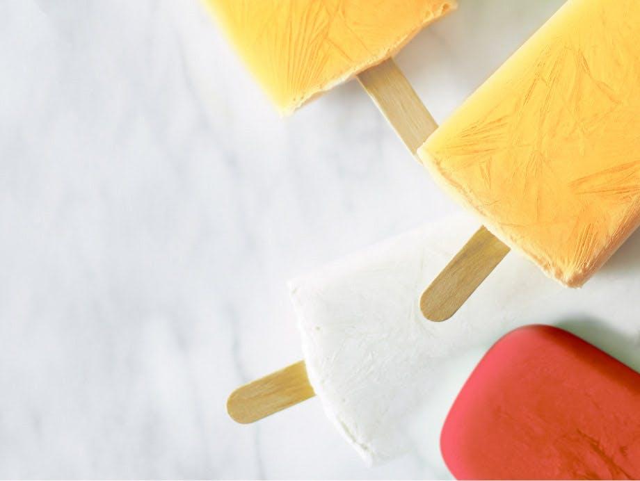 Ice pop causing tooth sensitivity