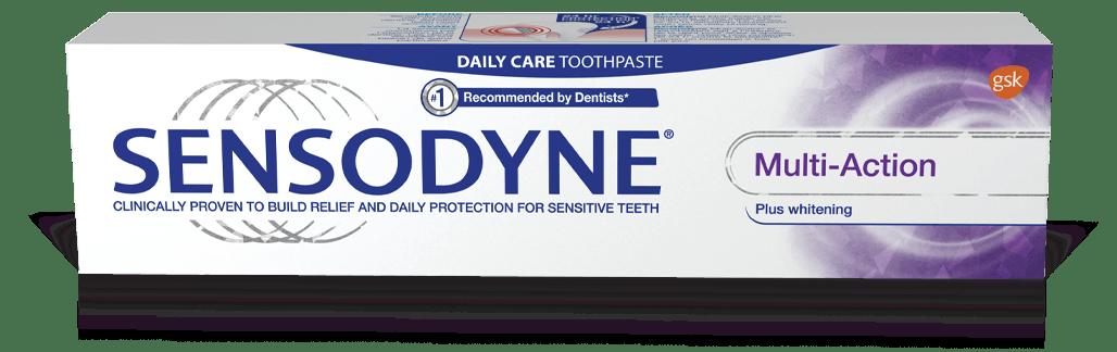 Sensodyne Multi-Action Plus Whitening Toothpaste