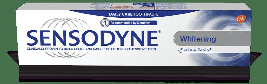 Sensodyne Whitening & Tartar with Whitening toothpaste