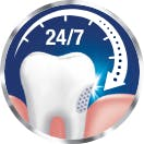 24/7 relief from sensitive tooth pain icon