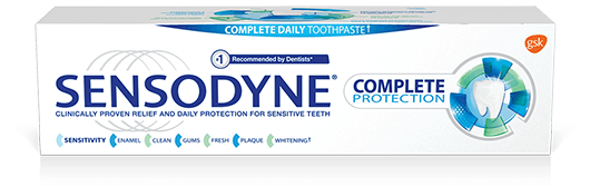 Sensodyne Complete Protection toothpaste