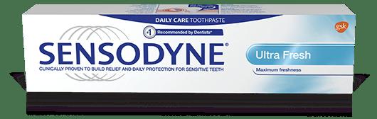 Sensodyne Ultra Fresh toothpaste