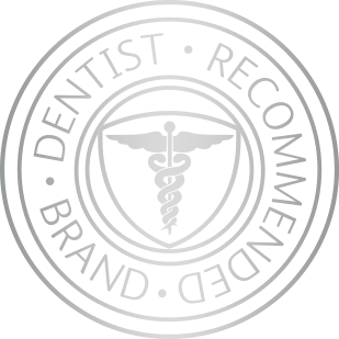Seal establishing Sensodyne as the #1 dentist recommended brand for sensitive teeth