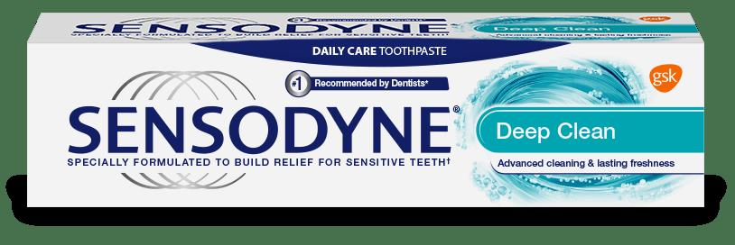 Sensodyne Deep Clean Toothpaste product image