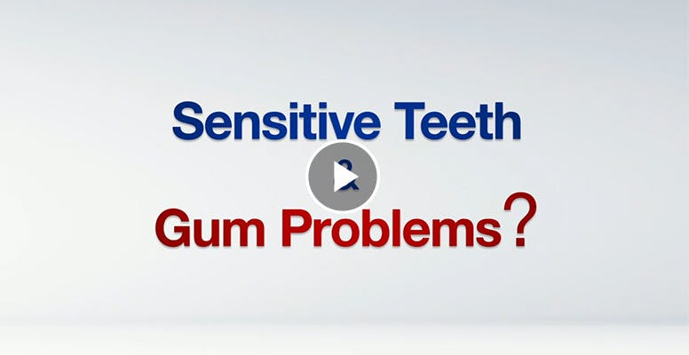 Sensitive teeth and gum problems