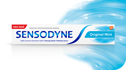 Sensodyne Original Mint toothpaste pack