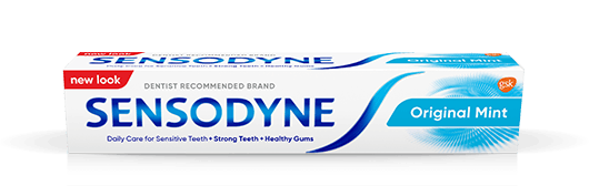 Sensodyne toothpaste in Original Mint