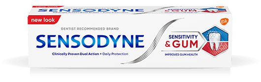 Sensodyne Sensitivity and Gum toothpaste