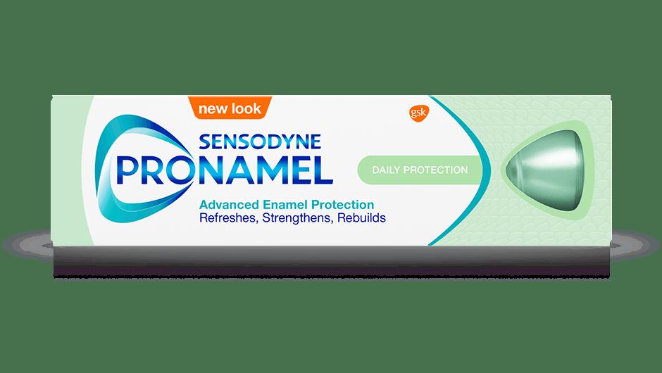 Sensodyne Pronamel Daily Protection toothpaste pack