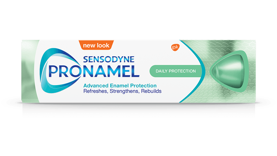 Sensodyne Pronamel Daily Protection toothpaste pack