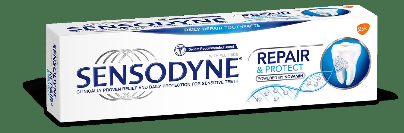 Sensodyne Repair and Protect toothpaste header