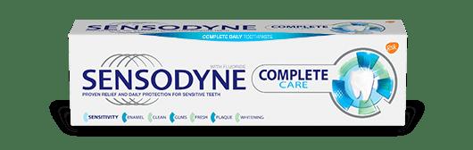 Sensodyne Complete Care toothpaste