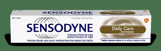 Sensodyne Daily Care Whitening toothpaste