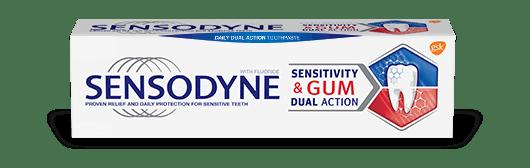 Sensodyne Sensitivity and Gum toothpaste