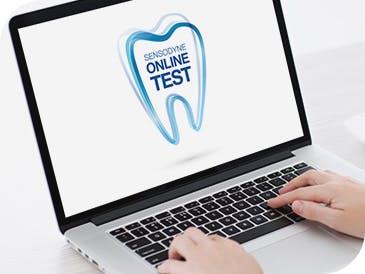 Der Sensodyne® Online Test