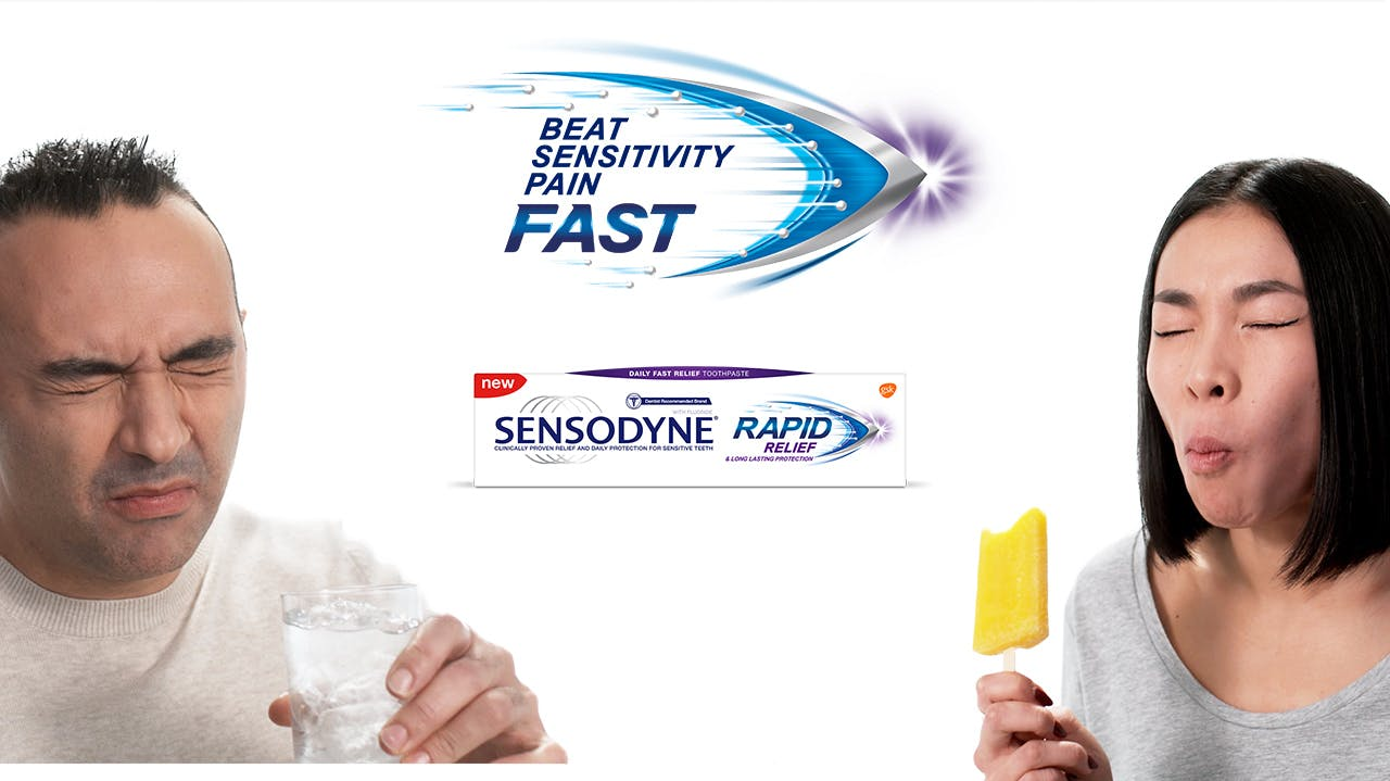 Promotional Image for Sensodyne Rapid Relief