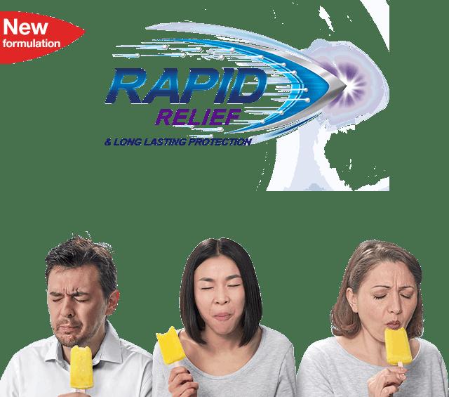 Sensodyne Rapid Relief Banner 2