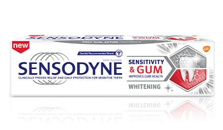 Sensodyne Sensitivity & Gum Whitening