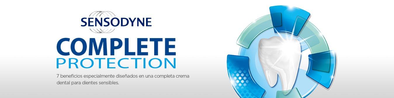sensodyne complete protection 7 beneficios especialmente diseñados para una completa crema dental para dientes sensibles