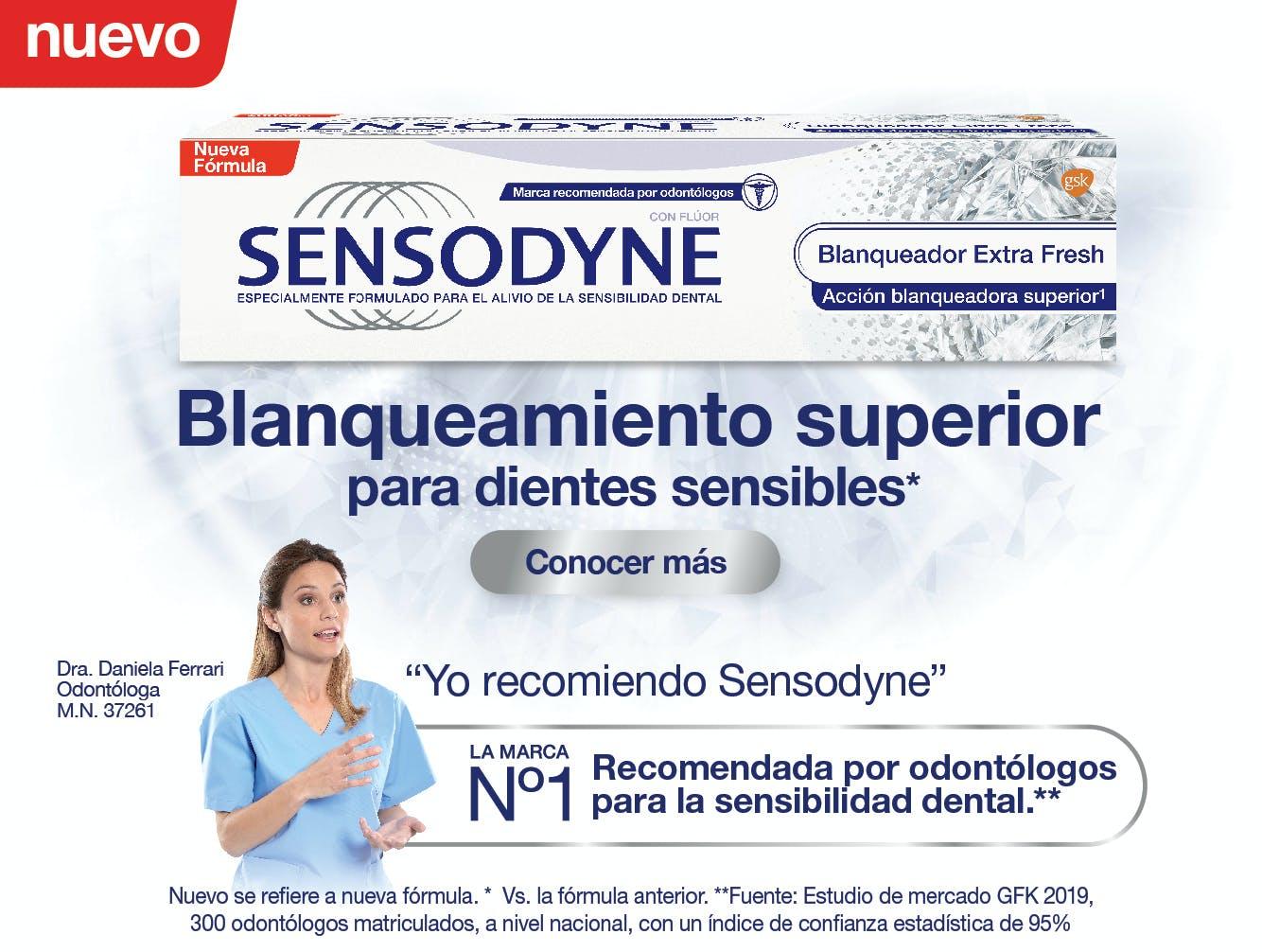 Sitio web Sensodyne Greenland 18.05