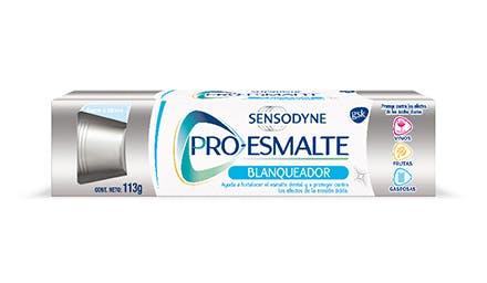 dentífrico sensodyne blanqueadora pro esmalte