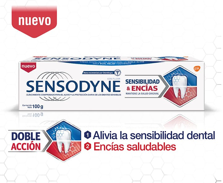 Sensodyne Doble alivio