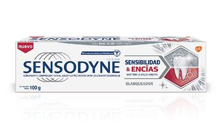 Dentifrice Sensodyne dents & gencives sensibles soulages vos douleurs