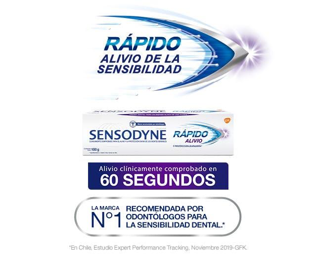 Sensodyne Rápido alivio de la sensibilidad dental - Producto en su caja