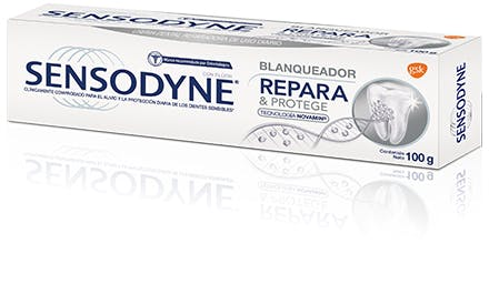 Sensodyne® | Repara & Protege Blanqueador