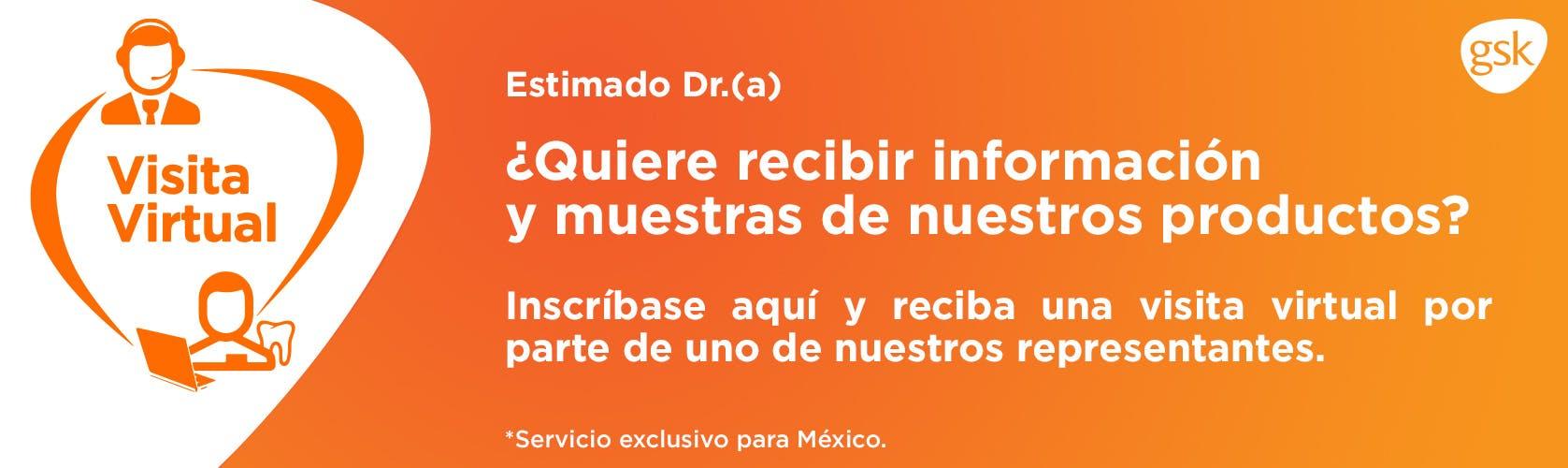 Visita virtual GSK - Sensodyne Mexico