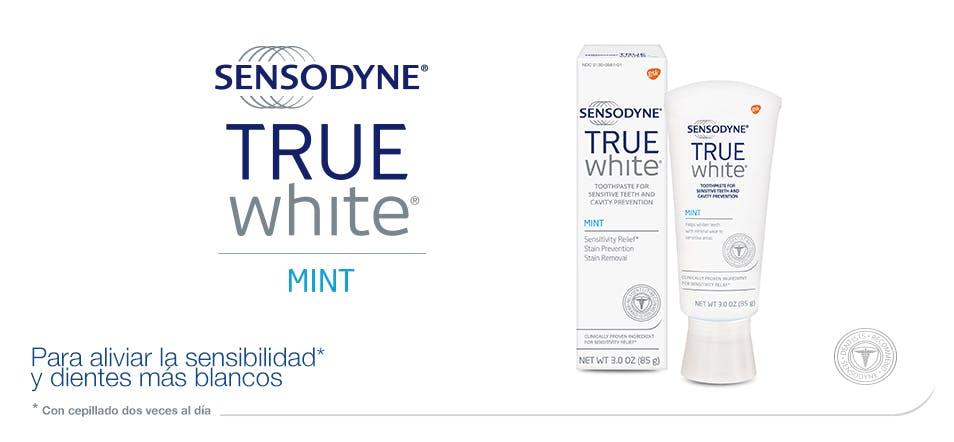 Sensodyne | Pasta de dientes TRUE WHITE Mint