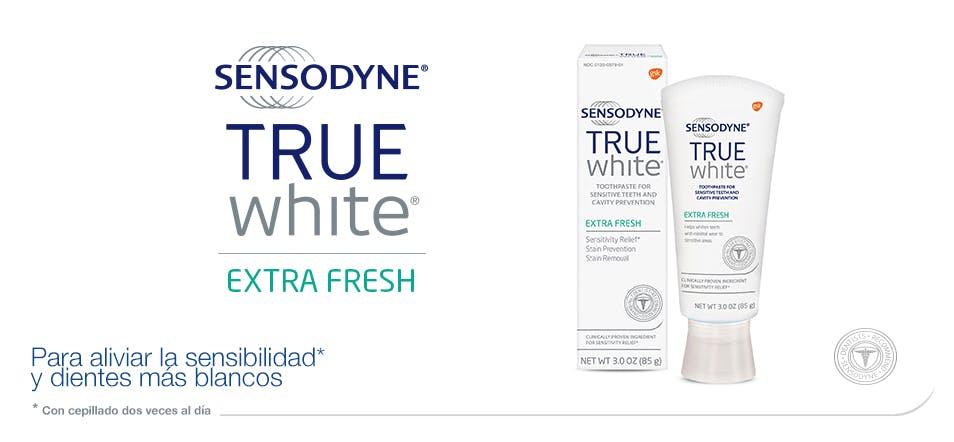 Sensodyne   Pasta de dientes TRUE WHITE Extra Fresh